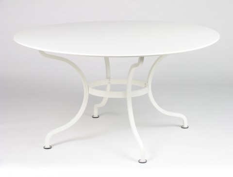 Romane table 137 cm in Cotton White