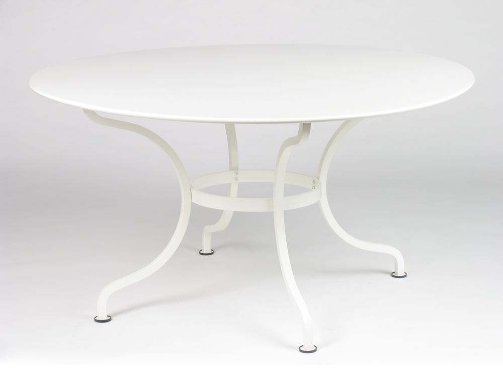 Romane table 137 cm le petit jardin - Table blanche jardin ...