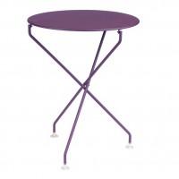 Tertio table in Aubergine