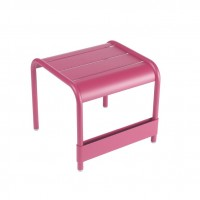 Luxembourg small low table/footrest in Fuchsia