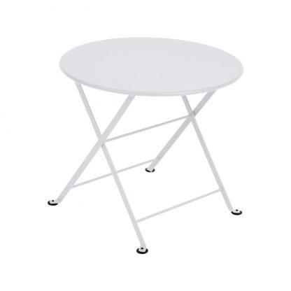 Tom Pouce round table in Cotton White