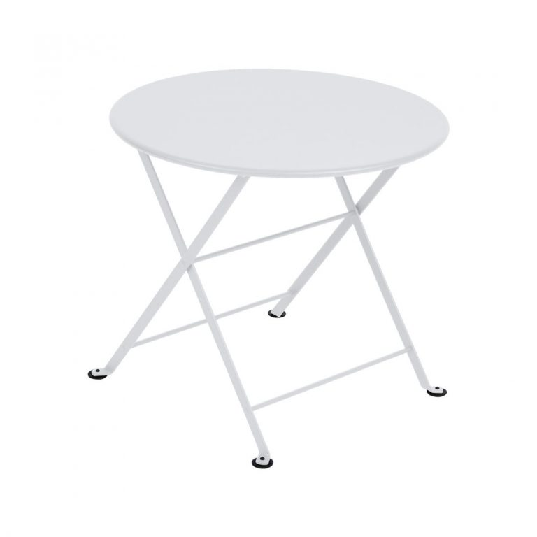 Tom Pouce round table in Cotton White