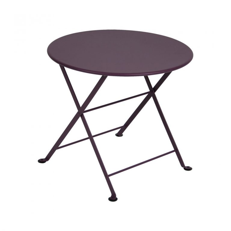 Tom Pouce round table in Plum