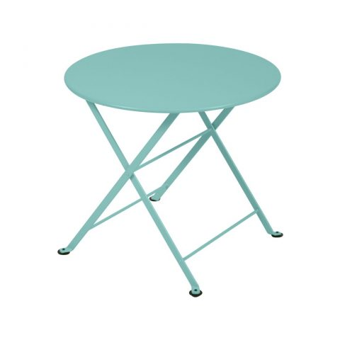 Tom Pouce round table in Lagoon Blue