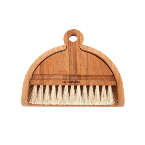 Table brush: oil treated beech, horsehair