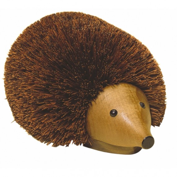 Hedgehog boot brush