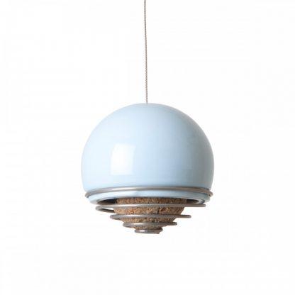 Belle bird feeder in blue