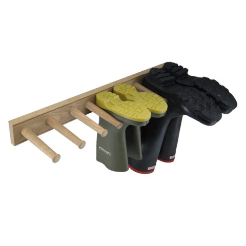 Wellie boot rack - three pair