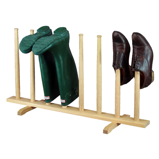 Wellie boot stand - four pair