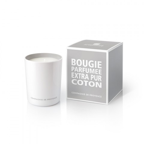 Coton scented candle