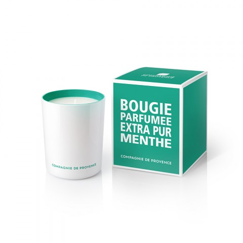 Menthe scented candle