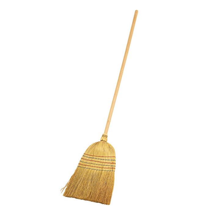 Rice Straw Broom Le Petit Jardin