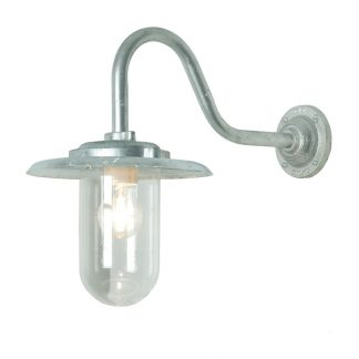 Exterior swan neck light