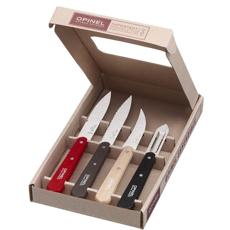Opinel Essentials kitchen set - Loft