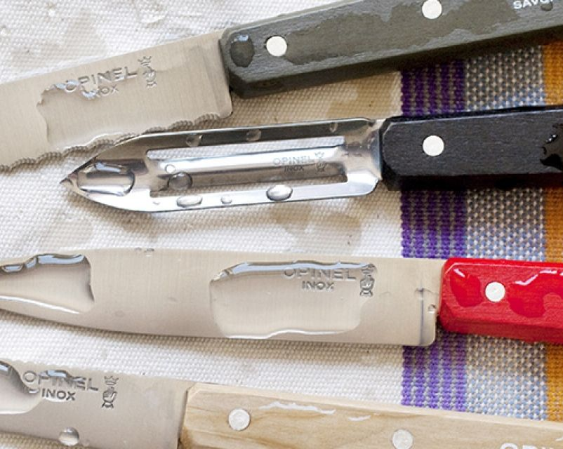 Opinel Essentials kitchen set - Fifties