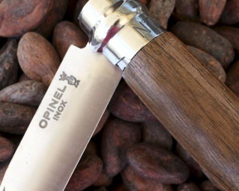 Opinel No. 6 knife in walnut wood