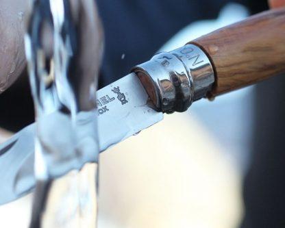 Opinel No. 06 knife in walnut wood