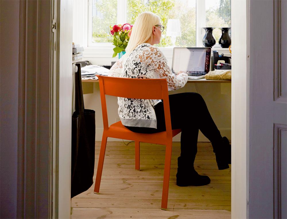 Bellevie chair in Carrot