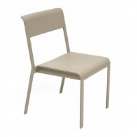Bellevie stacking chair in Nutmeg
