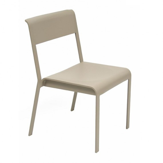 Bellevie stacking chair in Nutmeg