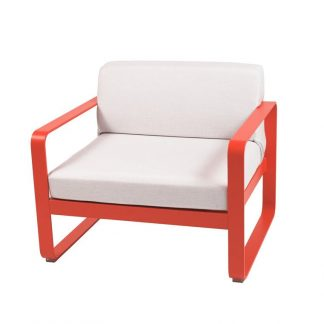 Bellevie armchair in Capucine