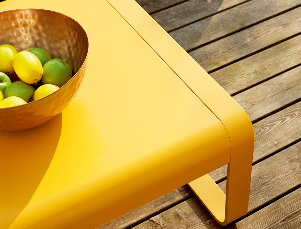 Bellevie low table in Honey