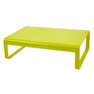 Bellevie low table in Verbena