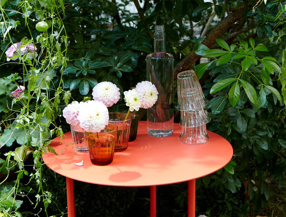 Salsa side table le petit jardin for Le petit jardin