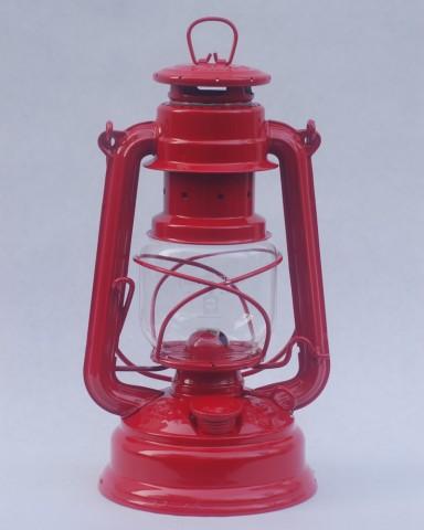 Feuerhand hurricane lantern in Fire Red