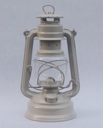 Feuerhand hurricane lantern in Pearl Beige