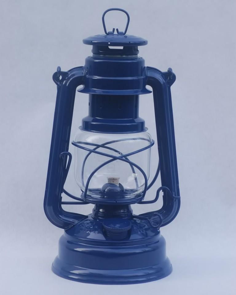 Feuerhand lantern in Cobalt Blue