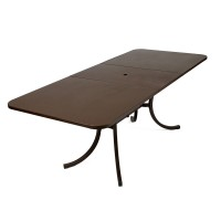 Deauville extending table in Russet