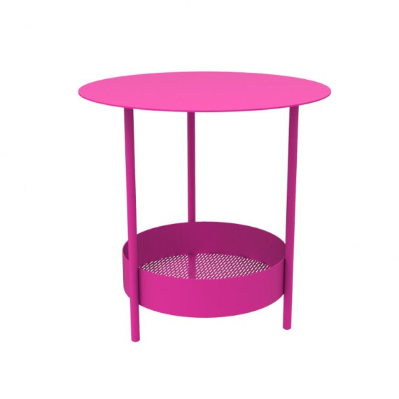 Salsa side table in Fuchsia