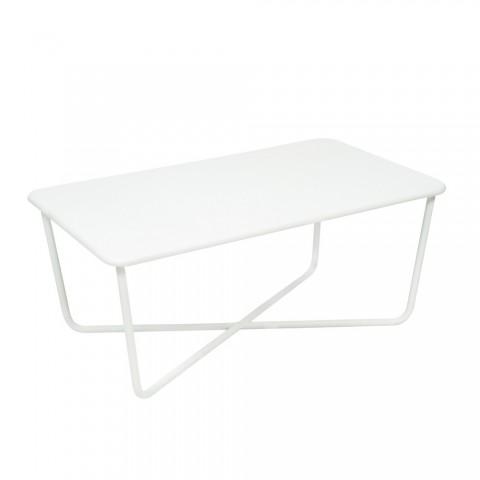 Croisette table in Cotton White