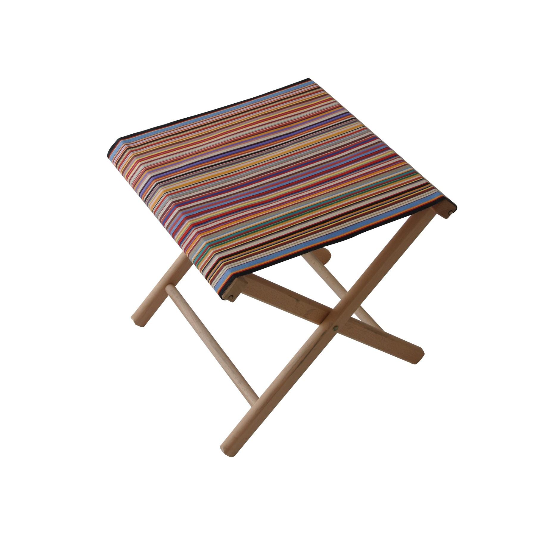 Fishing stool 100 cotton beech wood le petit jardin for Petit jardin