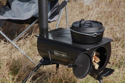 You can fuel the Loki stove with any dry wood or kindling