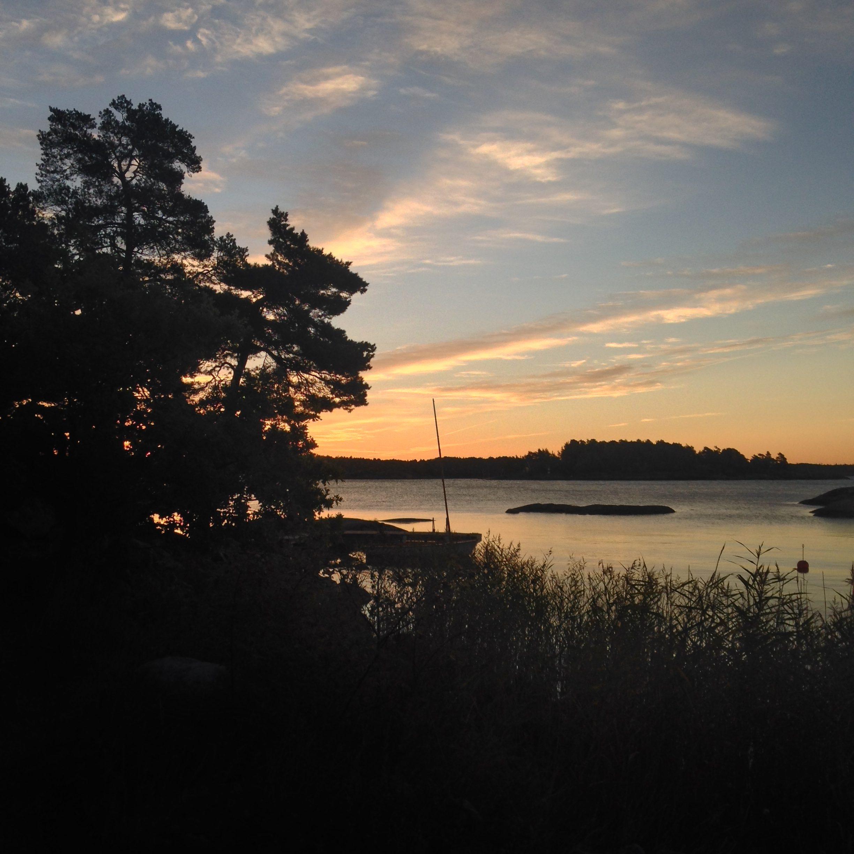 Sun set
