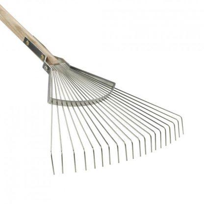 Sneeboer long handled leaf rake, twenty tine