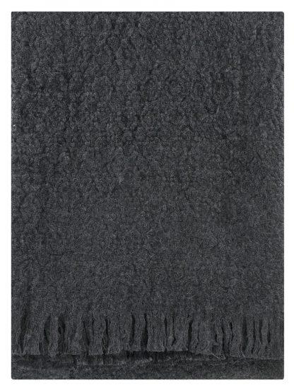 Corona Uni blanket in Dark Grey
