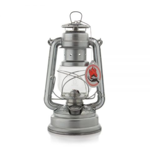 Feuerhand lantern in galvanised zinc