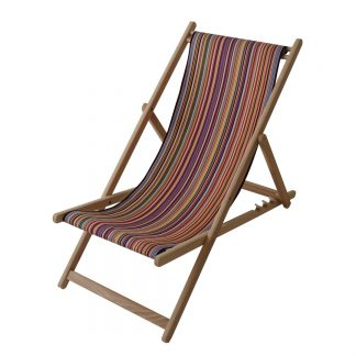 Deck chair in Tom fabric