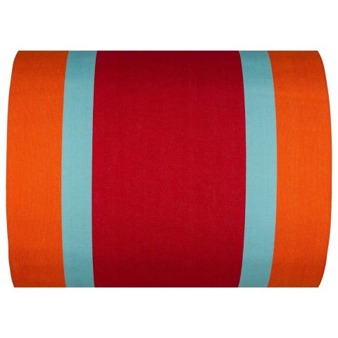 Deauville fabric in Rouge/Orange