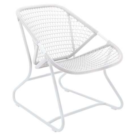 Sixties armchair in Cotton White