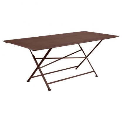 Cargo rectangular table in Russet