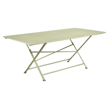 Cargo rectangular table in Willow Green