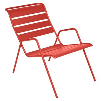 Monceau low armchair in Capucine