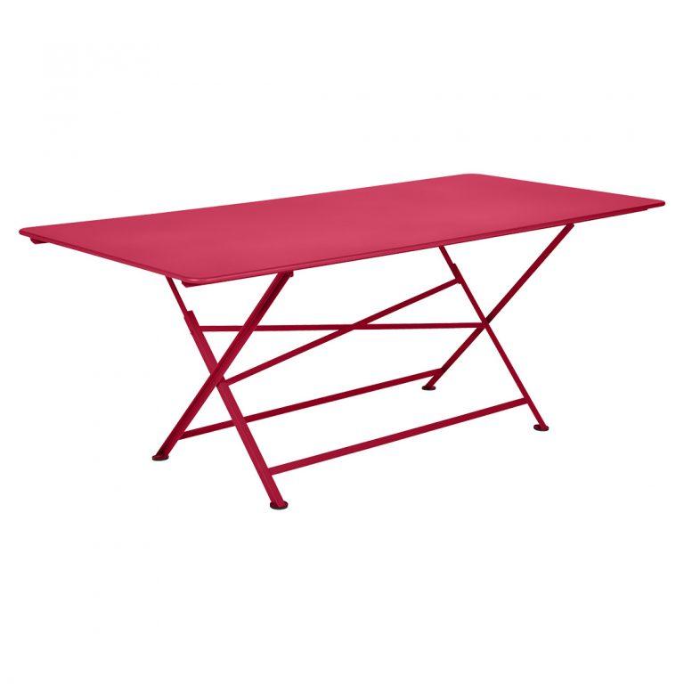 Cargo rectangular table in Rose Praline