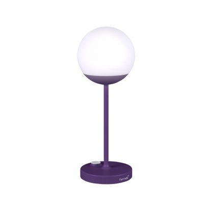 Mooon! lamp in Aubergine