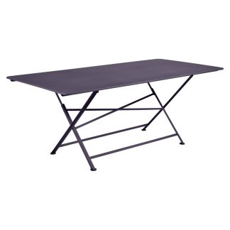 Cargo rectangular table in Plum