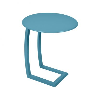 Alizé offset low table in Turquoise